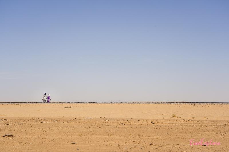 Sahara Bewohner