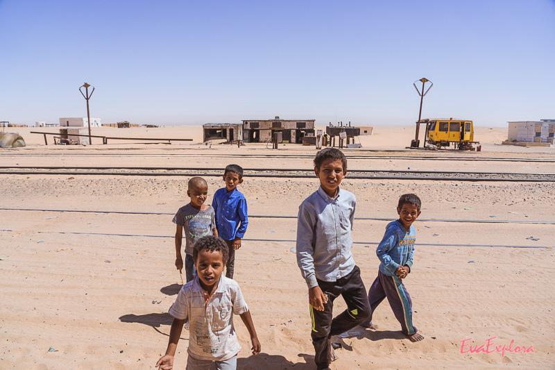 Kinder der Sahara