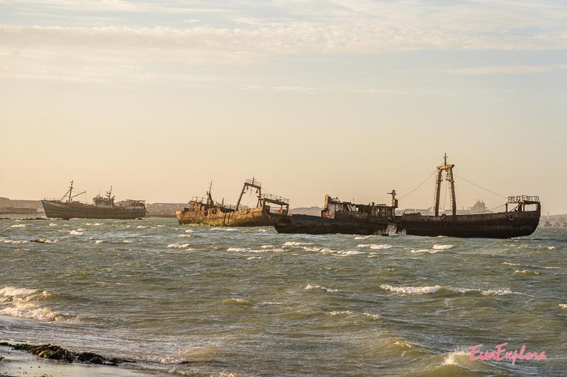 Schiffswracks Westküste Afrika