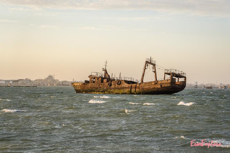 Schiffsfriedhof Mauretanien