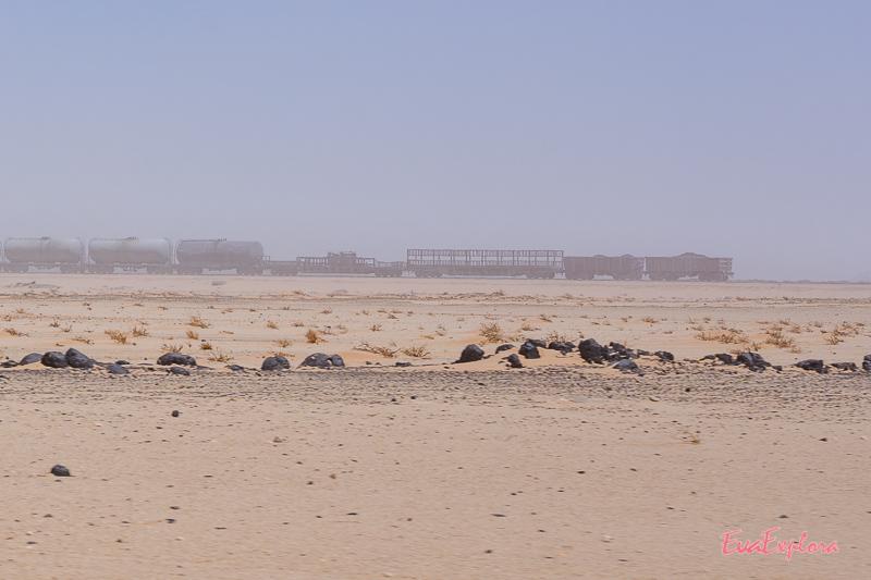 Eisenerz-Zug Mauretanien