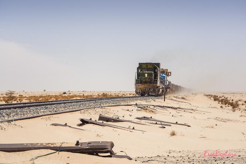Lokomotive Wüste