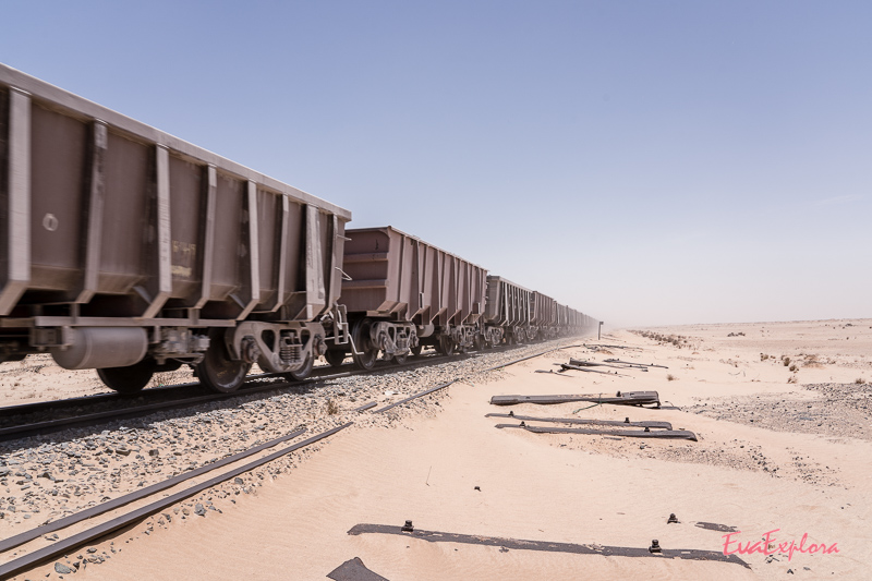 Eisenerzzug Mauretanien