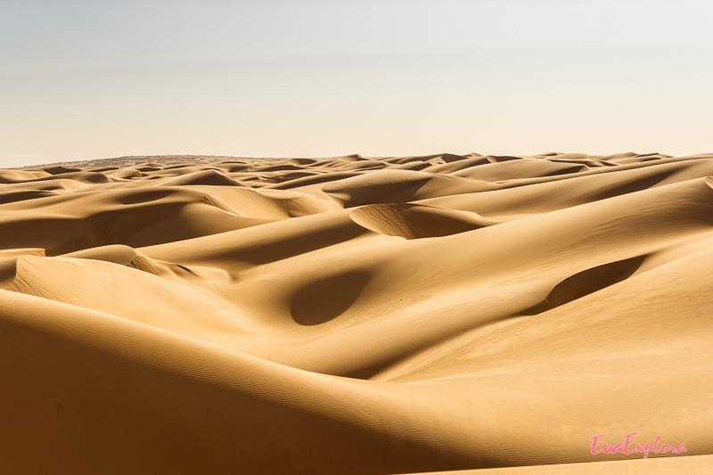 unberührte Wüste Sahara