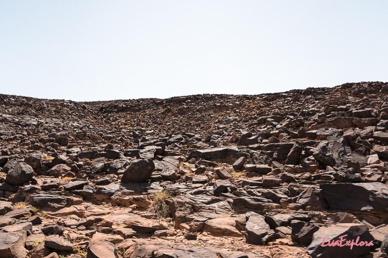 Geröllwüste Mauretanien