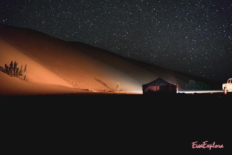 Nacht in der Sahara