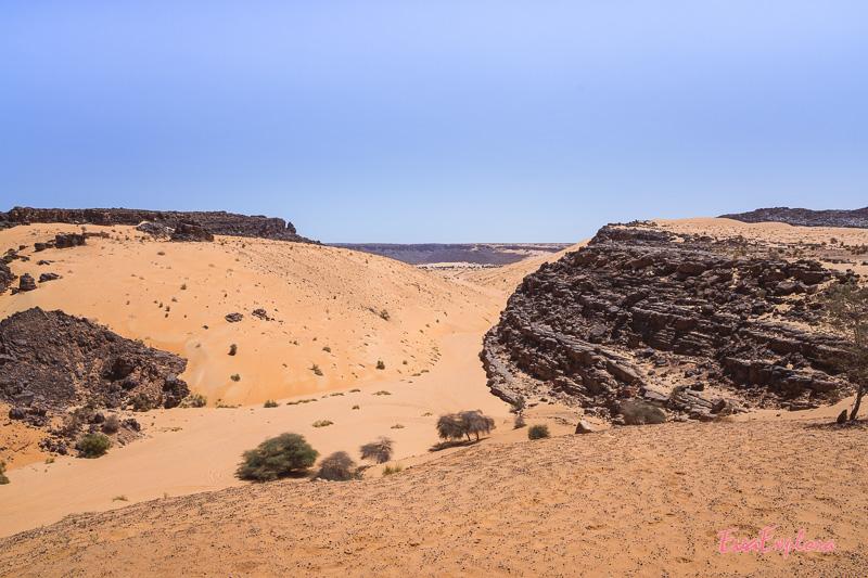 Canyon in Mauretanien