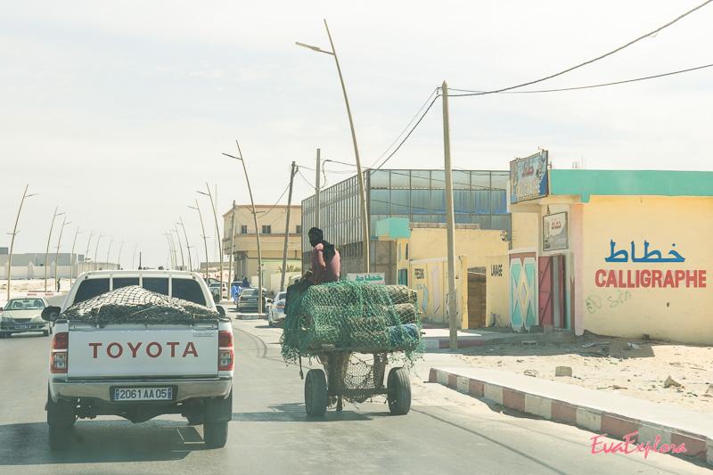 Straßenverkehr Nouadhibou
