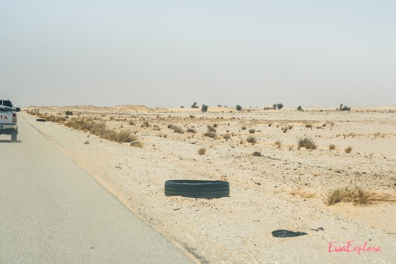 Autofahren Mauretanien