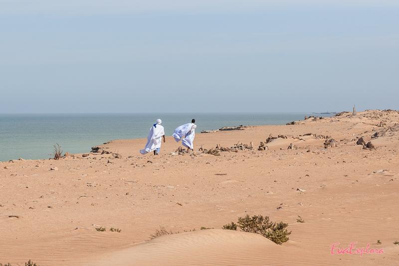 Männer in Mauretanien