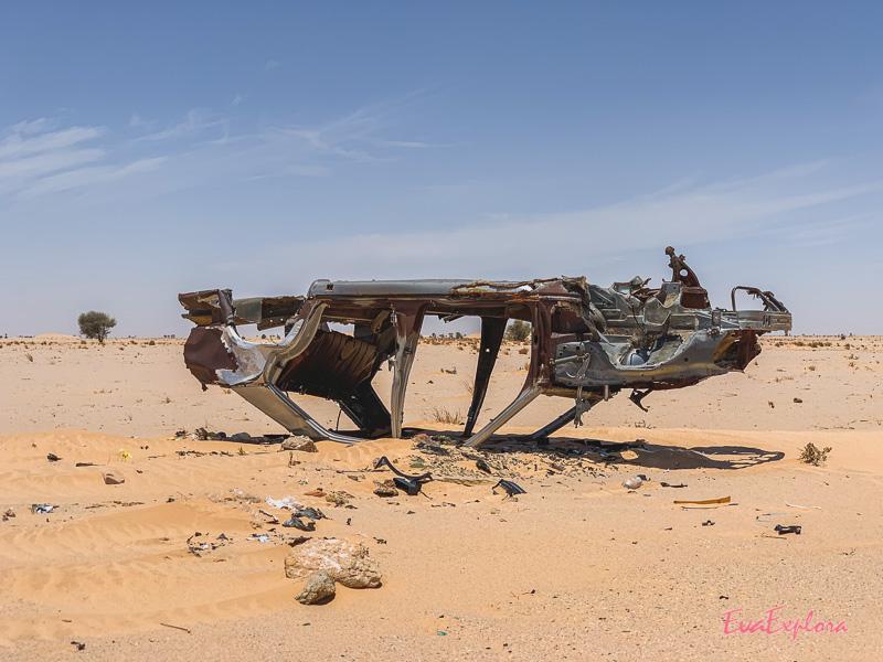 Autowrack Mauretanien