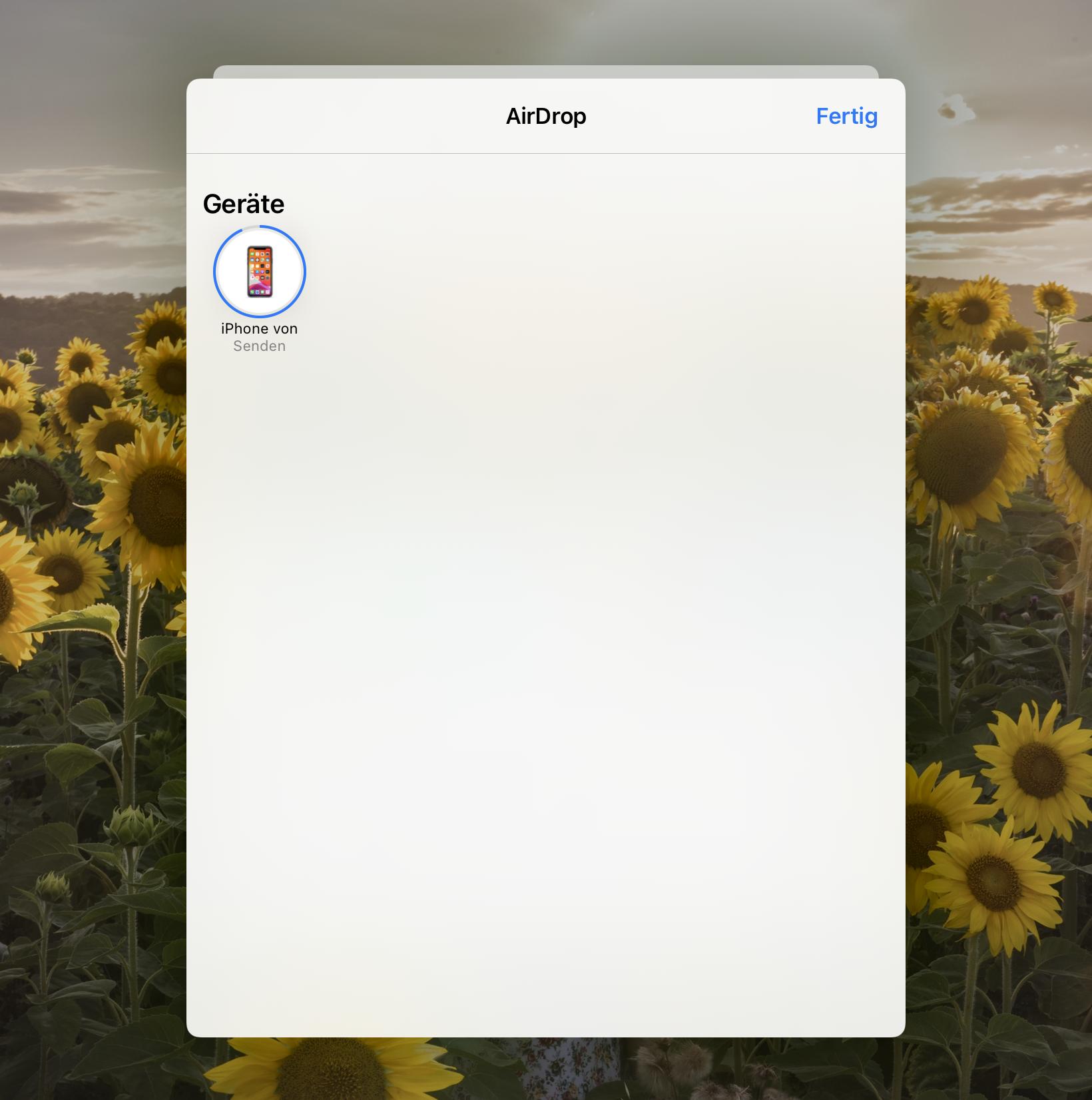 Synchronisation ipad iphone