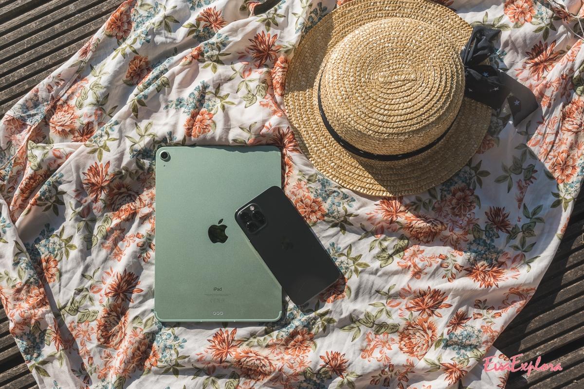 ipad air und iphone12
