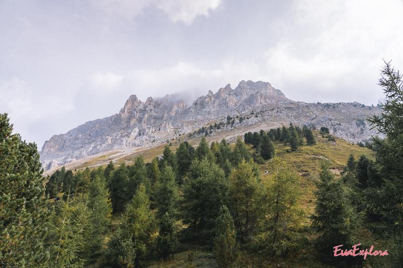 Bergkette Latemar
