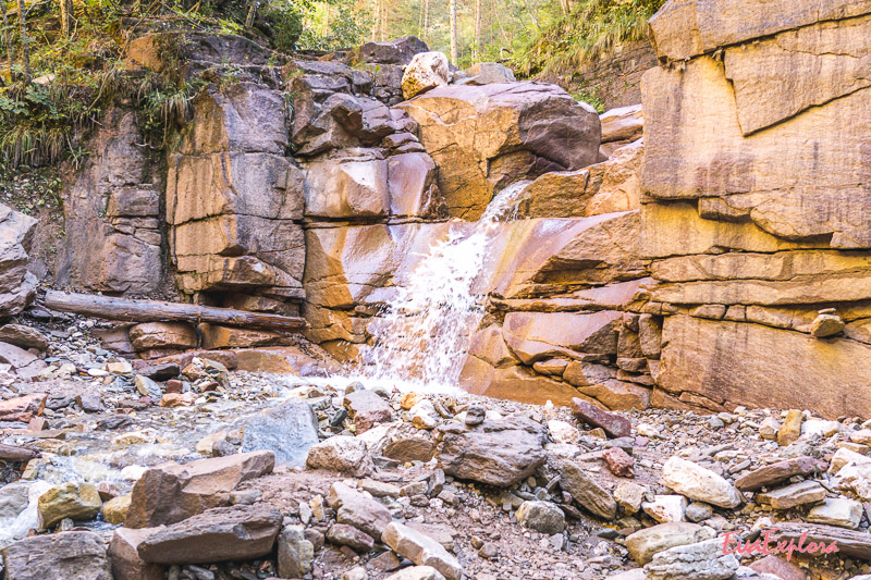 kleiner Wasserfall Bletterbachschlucht