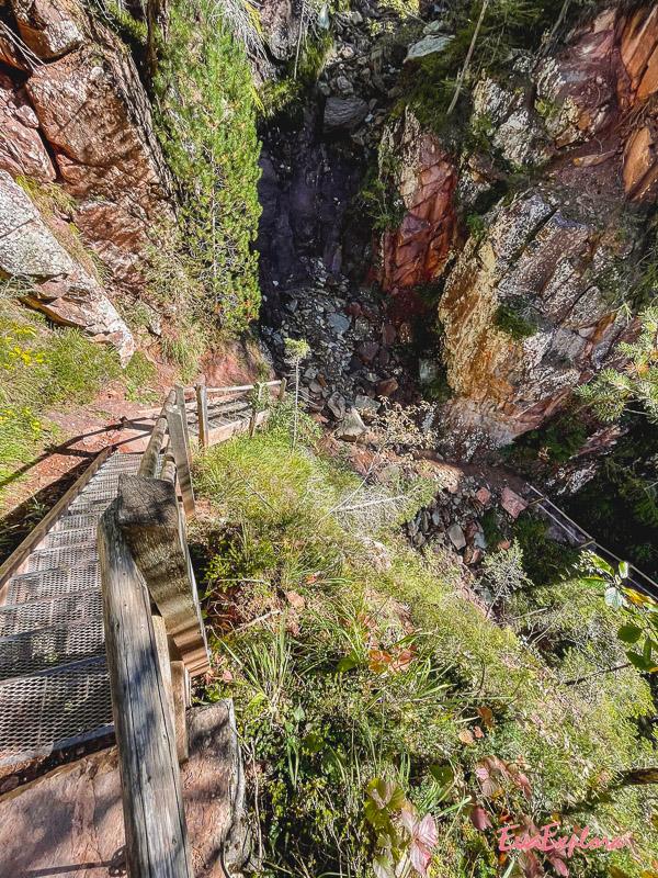 Abstieg Bletterbachschlucht