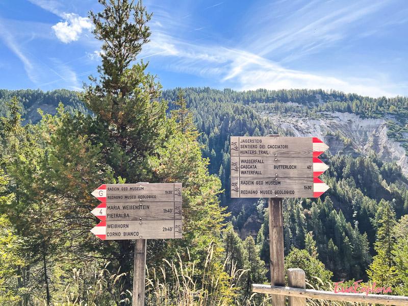 Wanderwege Bletterbachschlucht Eggental
