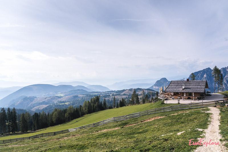 Messnerjoch am Rosengarten